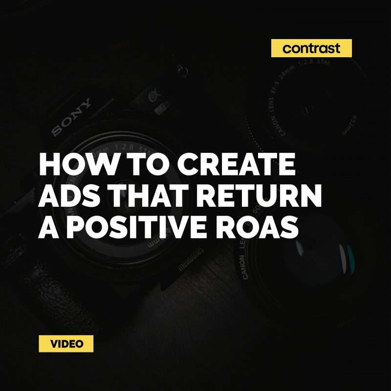 Image for How to create ads that return a positive ROAS