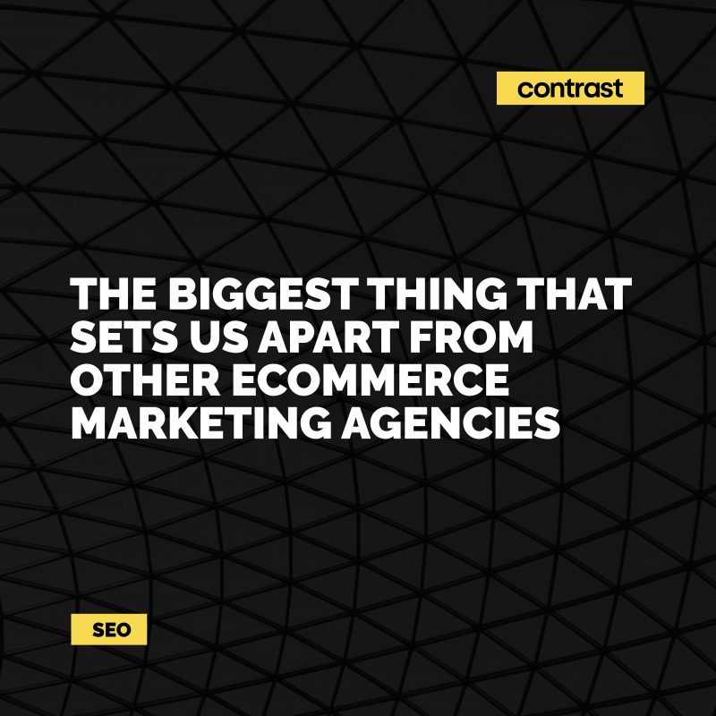 Image for The biggest thing that sets us apart from other eCommerce marketing agencies