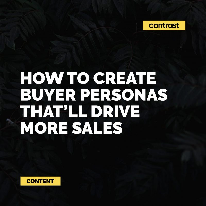Image for How to create buyer personas that'll drive more sales