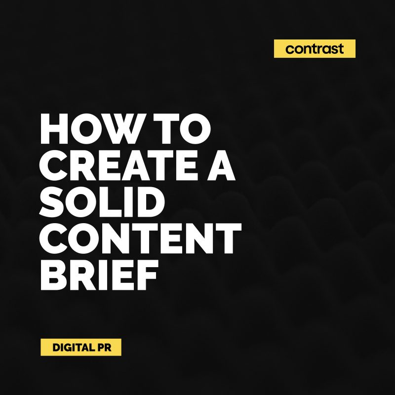 Image for How to create a solid content brief