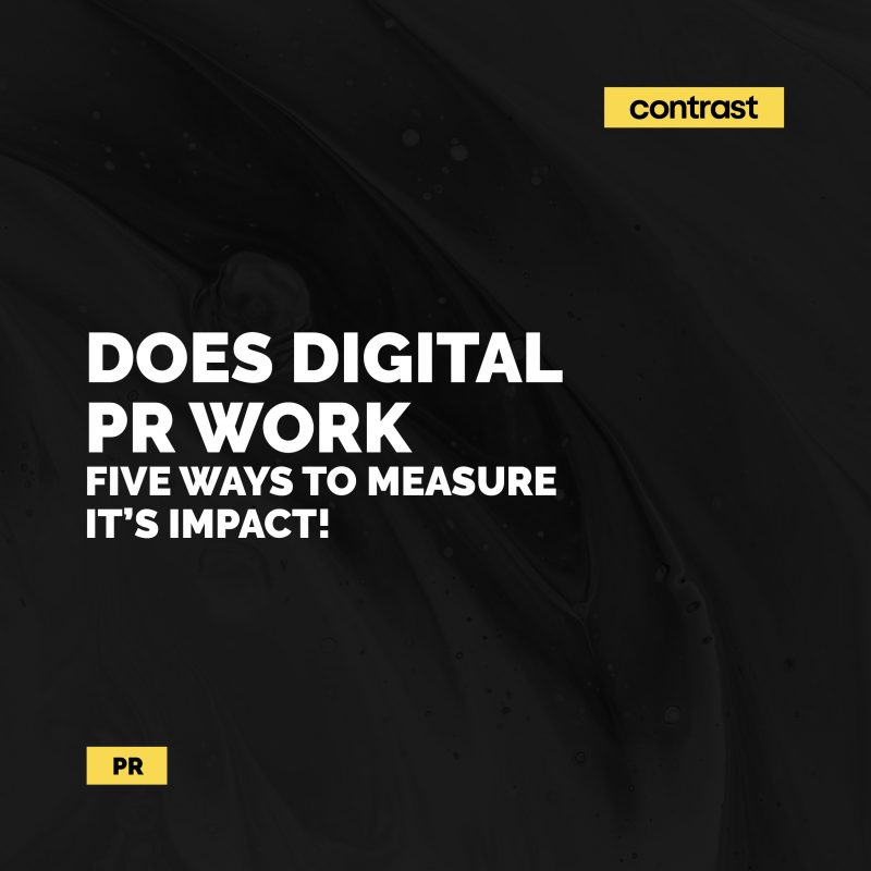 Image for Does digital PR work? Five ways to measure its impact!