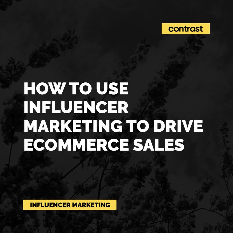 Image for How to use influencer marketing to drive eCommerce sales