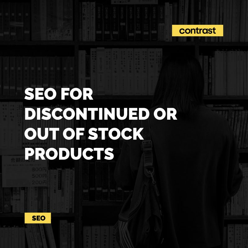 Image for SEO for Discontinued or Out of Stock Products