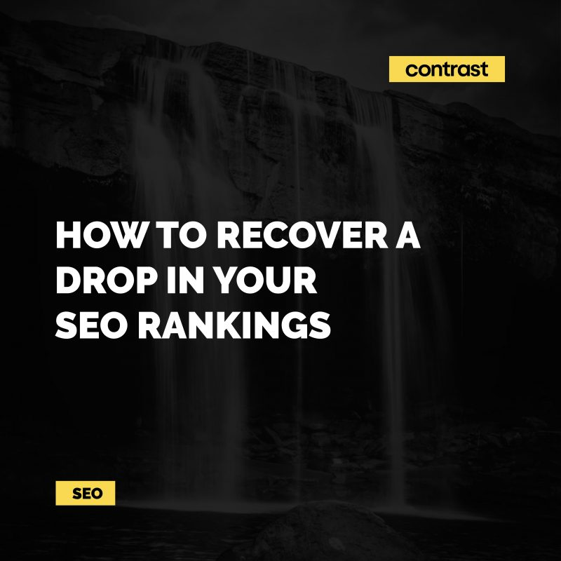 Image for How to recover a drop in your SEO rankings