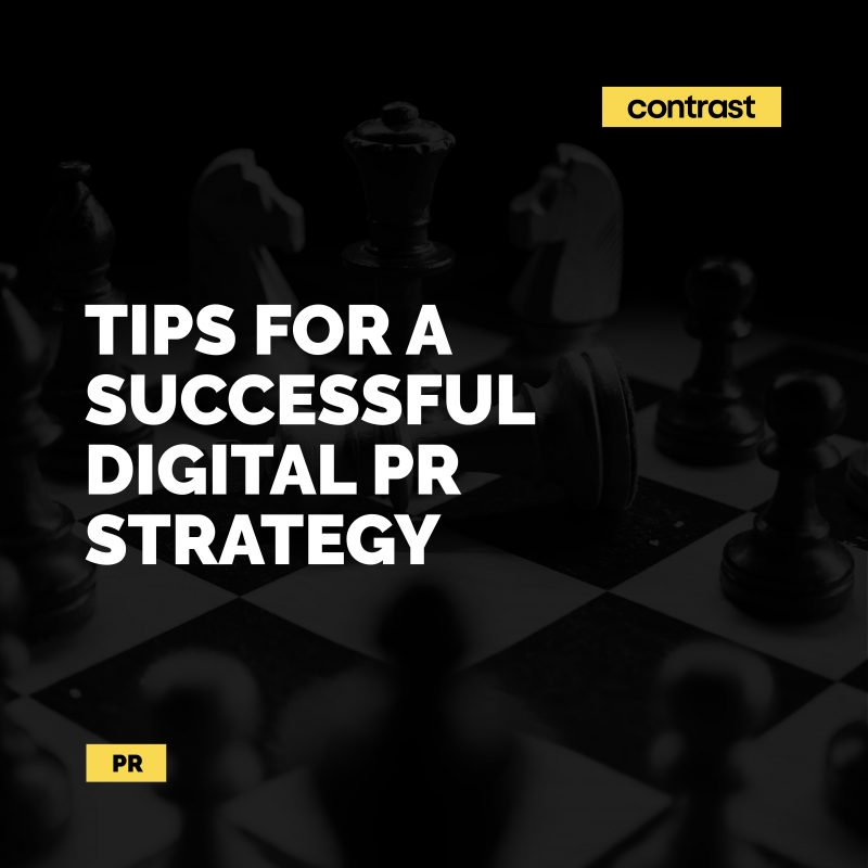 Image for Tips for a successful digital PR strategy