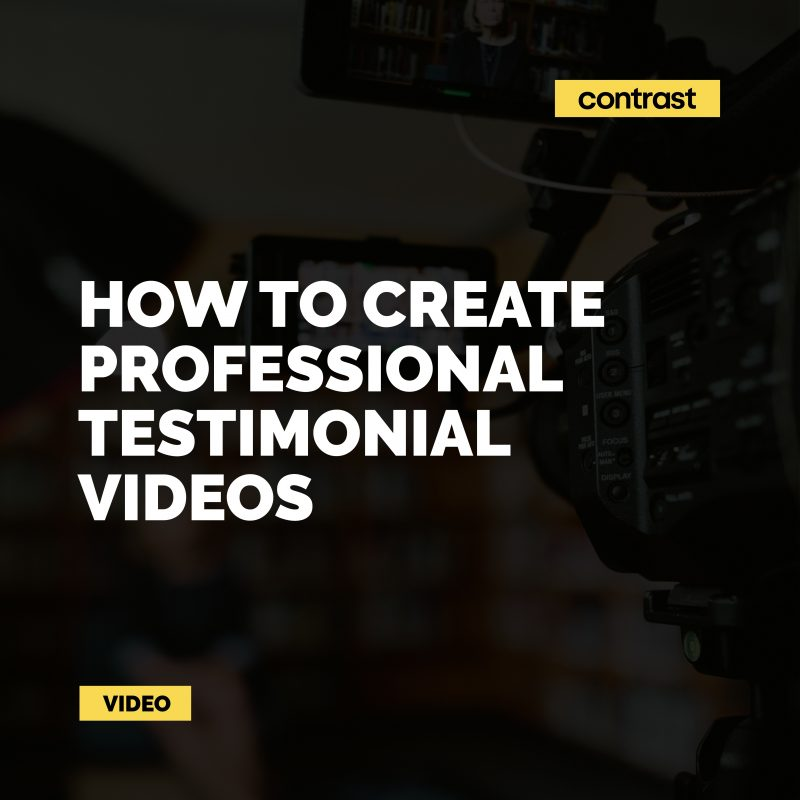 Image for How to film professional testimonial videos