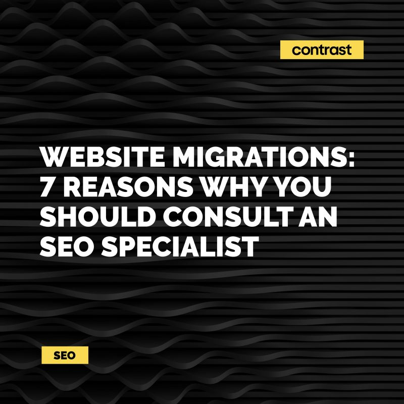 Image for Website Migrations: 7 Reasons you should consult an SEO specialist